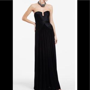 BCBGMaxAzria Long Black Dress